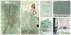 Pastel green colors by L'Authentique Paints & Interior