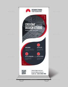 Roll Up Banner Bundle - Roll Up Banner Bundle - Flex Banner Design, Rollup Banner Design, Standing Banner Design, Brochure Design, Brochure Template, Flyer Design, Cool Business Cards, Business Card Design, Banner Design Inspiration