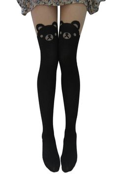 Ninimour-Women's Cat Tail Hosiery Pantyhose Tattoo Legging Tights (M, 10-12): Amazon.co.uk: Clothing