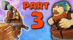 Battle Machine (Clash of Clans) Polymer Clay Fimo Tutorial Part 3/3