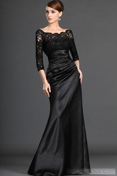 Attractive Lace Trumpet/Mermaid Off-the-Shoulder Floor-length Mother of the Bride Dresses