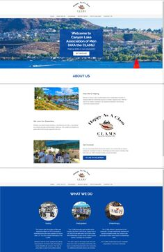 Eye-catching and informative websites to promote your community group or non-profit organization. Fundraising Activities, Canyon Lake, Website Design Services, First Website, Community Organizing, Recent News, Social Media Site, Business Website, Getting Things Done
