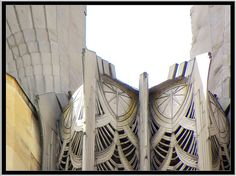 Times Square Building ~ Rochester, NY ~ aluminum wings