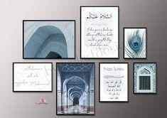 Islamic Quotes, Islamic Posters, Islamic Decor, Islamic Wall Art, Alhamdulillah, Allah, Ramadan, Islamic Pictures, Art Pictures