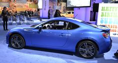 2013 #Subaru #BRZ Prices in the U.S. Start at $25,495 and Rise to $28,595* -6-speed manual and automatic  Torsion limited-slip differential.  Double-wishbone rear suspension.  Electric power steering.  4-wheel vented disc brakes.  Vehicle Stability Control (VSC) and traction control system (TCS) with 5 modes, including Sport mode and TCS Off for track driving.  17 x 7-in. aluminum alloy wheels with 215/45 R17 summer performance tires.  Aluminum hood.