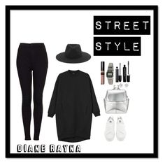 """Street Style #228"" by dianerayna ❤ liked on Polyvore featuring Monki, adidas, rag & bone, American Apparel, Kin by John Lewis, MAC Cosmetics, Marc Jacobs, River Island, Topshop and women's clothing"