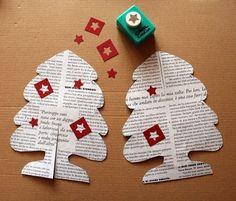Decorazioni natalizie fai da te da realizzare a casa con qualche foglio di carta e un po' di fantasia