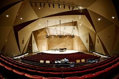 This has the most amazing acoustics! Concert Hall Architecture, Auditorium Architecture, Auditorium Design, Hall Design, Theatre Design, Structural Model, Hall Interior, Modern Buildings, Commercial Interiors