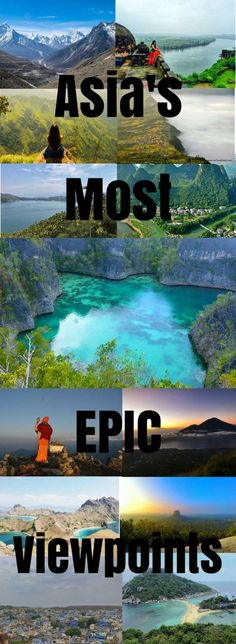 Some of Asia's most incredible and epic viewpoints to visit now!