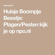 Huisje Boompje Beestje: Plagen/Pesten kijk je op npo.nl
