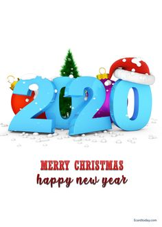Awesome collection of happy new year images Save these images and share with your loved ones and social media status/post. Happy Merry Christmas, Christmas And New Year, Christmas Time, Xmas, Christmas Ornaments, Happy New Year Images, Happy New Year 2020, Birthday Cards For Girlfriend, E Cards