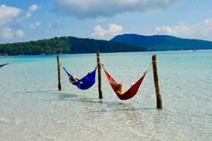 Koh Rong Samloem, Outdoor Furniture, Outdoor Decor, Cambodia, Hammock, Island, Garden Furniture Outlet, Block Island, Islands