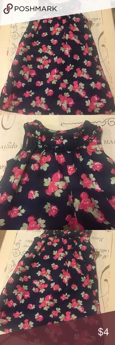 Faded Glory 3T floral dress Faded Glory 3T floral dress very cute ruffled collar. No tears or stains may have been worn once Faded Glory Dresses Casual