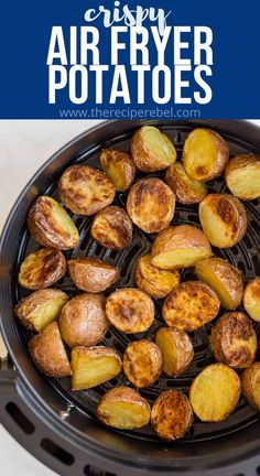 Juicy Baked Chicken, Baked Chicken Breast, The Recipe Rebel, Air Fried Food, Roasted Pork Tenderloins, Air Frier Recipes, Air Fryer Dinner Recipes, Potato Dishes, Potato Recipes