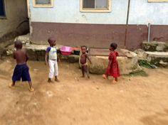 https://flic.kr/p/vb3kUB | Backyard Playground (Picture of The Week 07-17-15) | Children playing in the backyard in Ushafa Village FCT Nigeria.  #JujuFilms