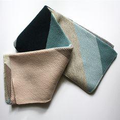 Ravelry: PatriziaM's Colorblock Bias Blanket