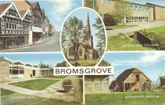 1981 – BROMSGROVE  - High strett – Shenstone #college – Saunders park – Avoncroft Museum The World is a book, and those who do not travel read only a page. Sant'Agostino