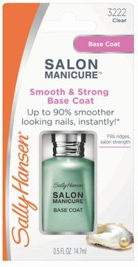 Sally Hansen Salon Manicure Smooth & Strong Base Coat - Amcal Chempro Online Chemist