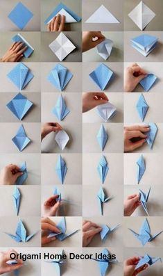 How to make origami easy – over 100 origami tutorials for all ages – Archzine.fr Origami is a good project … Origami 3d, Mobil Origami, Design Origami, Origami Simple, Origami Paper Folding, Origami Ball, Origami Fish, Origami Butterfly, Paper Crafts Origami