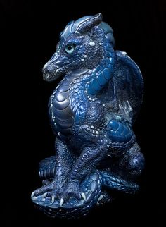 "Windstone Editions ""Subaquious 1"" Male Dragon Figurine Fantasy Statue 
