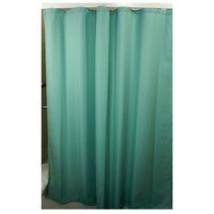 Hacienda Sage Checkered Shower Curtain