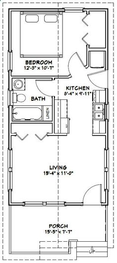 Shed Plans - 16x32 House -- #16X32H1L -- 511 sq ft - Excellent Floor Plans - Now You Can Build ANY Shed In A Weekend Even If You've Zero Woodworking Experience!