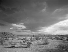 North. Maricopa Wilderness late July 2006. Overview looking southwest. Temperature was 109 degrees and in the Monsoon season. One of the few...