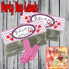 You knock my socks off Valentine/printable by PartyPaloozza