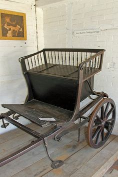 Jane Austen's Donkey Carriage, at the Jane Austen House Museum in Chawton, England