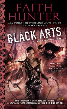 Black Arts (Jane Yellowrock #7) by Faith Hunter (cover by Cliff Nielsen). Available on January 7, 2014 by Roc #Paranormal