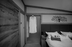 Our brides enjoy the comfortable  surroundings of the master bedroom to get ready for their big day :)