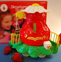 Big berry Trolley  I wish I still had this! #vintage #toy #1980 $25