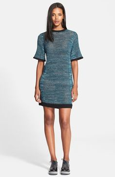 Public School Pointelle Knit T-Shirt Dress available at #Nordstrom