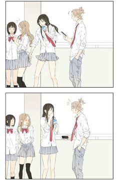 Read Tamen De Gushi Chapter 1 online for free at MangaKakalot. Fastest manga site, unique reading type: All pages - scroll to read all the pages Chica Anime Manga, Yuri Anime, Anime Kawaii, Anime Art, Anime Comics, Bd Comics, Funny Comics, Anime Meme, Anime Guys