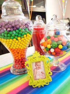rainbow party decor - Google Search