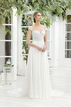 TO-874T - The One 2019 - Wedding dresses - Agnes - lace wedding dresses, Plus Size Bridal Gowns Wedding Bells, Lace Wedding, Our Wedding, Most Beautiful Wedding Dresses, Bridal Salon, Wedding Accessories, Bridal Gowns, Plus Size, Model