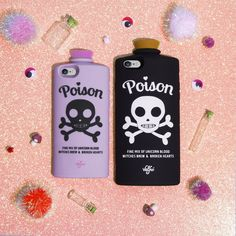 Poison Phone Cases valfre.com #valfre