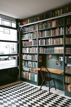 home library American country interior,home decor for American country style,home interior decor,practical home design,color of American country interior Home Library Rooms, Home Library Design, Home Libraries, Home Office Design, House Design, Library Bedroom, Public Libraries, Library Ideas, Reading Room Decor