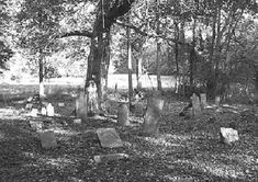 Witches Cemetery, Tennessee Pentagrams etched into stone grave markers, strange lights in the woods....