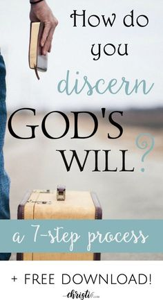 """How do I know God's will"" is one of the most-asked questions by Christians. This process involves prayer, Scripture, and seeking God's plan through God's Word. via @ChristiLGee"