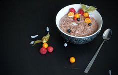 :) :) :) Pudding Oat: Der neue Trend am Haferflocken-Himmel. Ob in der schokoladigen oder vanilligen Variante - jeder wird dieses Frühstück lieben! kalorienarm, fettarm