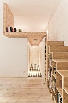 312 Sq. Ft. Tiny Modern White Apartment