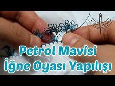 Petrol Mavisi İğne Oyası - Namaz Başörtüsü Yapılışı HD Kalite - YouTube Filet Crochet, Bikini Line Tattoo, Magic Symbols, Needle Lace, Line Tattoos, Butterfly Wings, Needlework, Prayers, About Me Blog