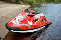Sea-Doo is the official tow vehicle of the NIKE 6.0 Wake team, pulling the World's BEST board athletes behind the Sea-Doo WAKE 155 and WAKE PRO 215 watercraft. The team is getting some new kicks, check out Nick Taylor's NIKE wrapped Sea-Doo WAKE 155.