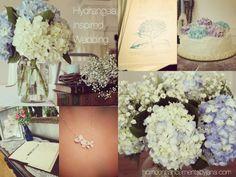Hydrangea Inspired Wedding