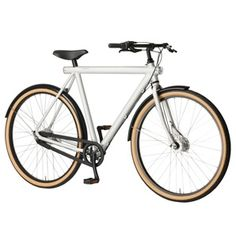 The Vanmoof 3.7 is a stylish Dutch import commuter-bike with a seven-speed internal hub; a bike designed to be used and abused daily.