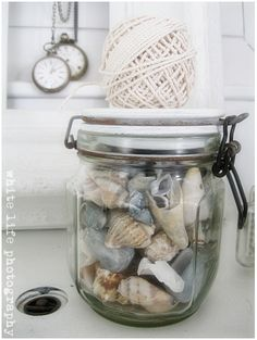Living with shells and beach