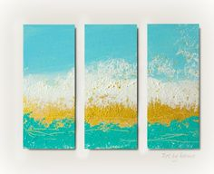 Triptych Art Painting