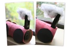 T is for Train- to use with other T or train activities and books- Chugga Chugga Choo Choo: How to Make a Toilet Paper Tube Train