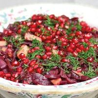 Pomegranate & Red Cabbage